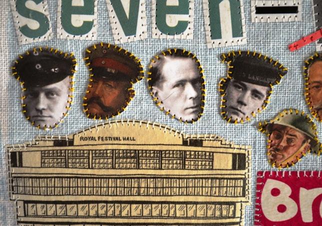 Baron Von Richthofen, Field Marshal Von Hindenburg by August Bocher, 1917 (copyright IWM), William Orpen (IWM), Jack Travers Cornwell (IWM), A Grenadier Guardsman by William Orpen, 1917 (IWM)