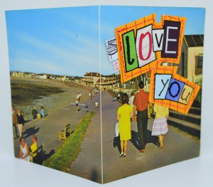 377. Beach Chalets, Westward Ho. PT1506. Printed in Great Britain.