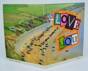 381. Brean, Somerset. C11D. Harvey Barton Viewcard.